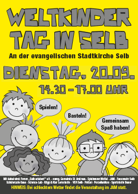 Weltkindertag in Selb